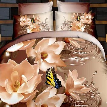 bedding sets bedclothes king queen 3D bedding set luxury duvet cover set BED LINEN 3D