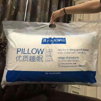 New Super soft pillow. Hotel pillows. Household pillows. Solid color pillows.Manufacturer sales