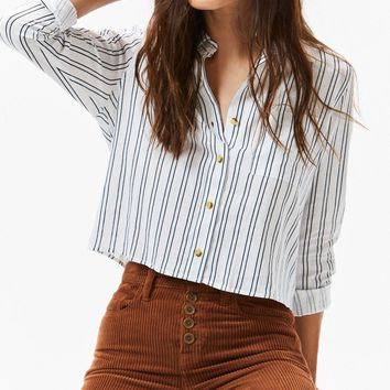 Linen Button Down Shirt | PacSun