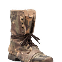 Steve Madden Troopale Boot in Camo from REVOLVEclothing.com