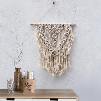 BRAIDS & LACE Macrame Wall Art
