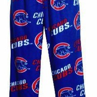Women's Chicago Cubs Wildcard Fleece Lounge Pants