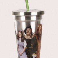 Wizard of Oz Stainless Steel Travel Cup with Straw