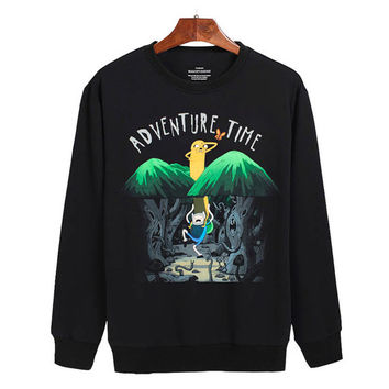 Adventure time Sweater sweatshirt unisex adults size S-2XL