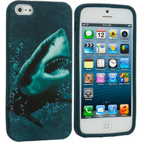 Shark TPU Design Soft Case Cover for Apple iPhone 5 / 5S