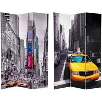 6 ft. Tall Double Sided New York Taxi Room Divider