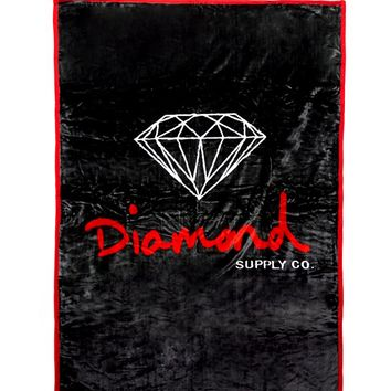 Diamond Supply Co Og Script Blanket From Pacsun Christmas