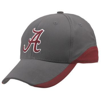 Top of the World Alabama Crimson Tide Match Play One-Fit Hat - Charcoal