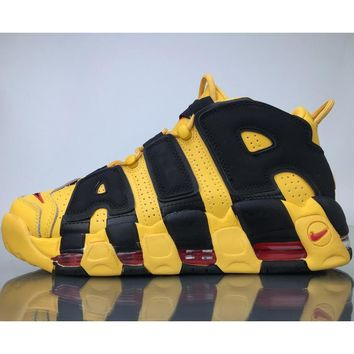 Nike Air More Uptempo tide brand trendy casual sneakers F yellow