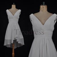 Custom White New Bridesmaid Dresses 2014 Cheap Bridesmaid Dress Wedding Party Dress Homecoming Dresses Prom Dresses Evening Dresses
