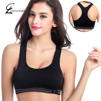 CHRLEISURE M/L/XL 4 Colors Women's Push Up Bra  Workout Cotton Bras Underwear No Rims Quick Drying Shockproof Seamless Bras