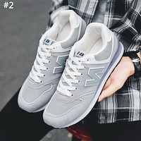 Free shipping-NB New Balance new round-headed letters sneakers casual shoes #3