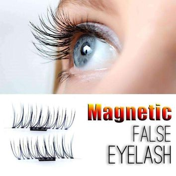 3D Magnetic False Eyelashes Natural Long