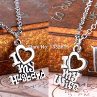 Valentines Gift Heart Charm Pendant Necklace