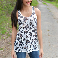Spotted You Leopard Tank Top