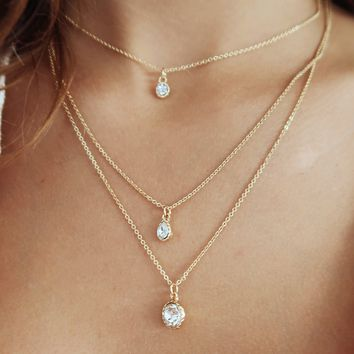 See The Vision Necklace: Gold