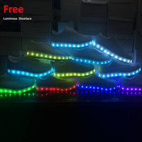 Led Luminous Shoes for Adults Women USB Led Light Up Shoes Glowing Chaussure Tenis Led Femme Flashing Lights Men Casual Shoes