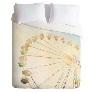 Happee Monkee Ferris Wheel Duvet Cover