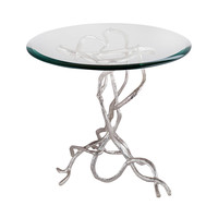 8987-022 Woven Vines Side Table