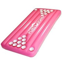 PortOPong Inflatable Floating Pool Beer Pong Table - Pink