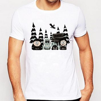 South Park Printed T-Shirt Summer