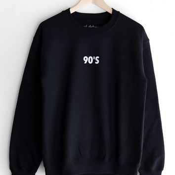 90's Oversized Sweatshirt