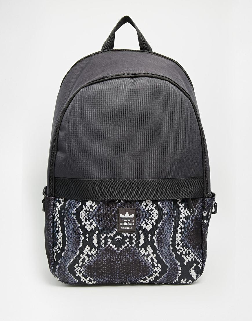 50bba072ae4c adidas Originals Backpack with Snake Skin from ASOS
