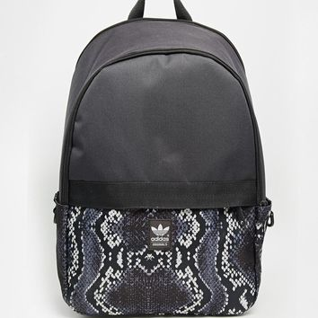 adidas Originals Backpack with Snake Skin Contrast Print 8a1e73b5e47d4