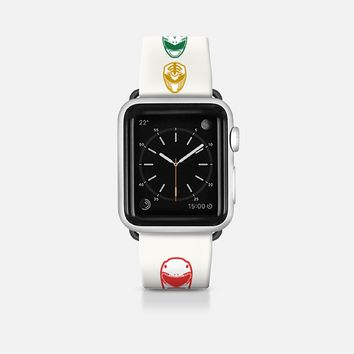 Original Mighty Morphin Power Rangers Apple Watch Band (42mm) by Febrian Anugrah | Casetify