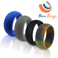 BeST Silicone Wedding Ring WORK SPORT LOVE Protect Comfort for Active Lifestyles.. Free Shipping!!