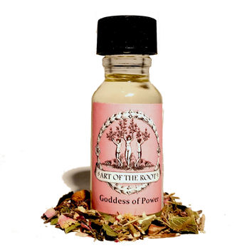 Goddess of Power Oil for Wiccan, Pagan, Hoodoo & Voodoo Rituals