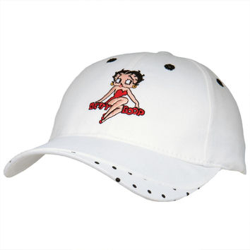Betty Boop - Polka Dot Adjustable Baseball Cap