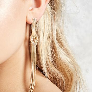 Knotted Duster Earrings