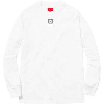 Supreme: Crown Label Top - White
