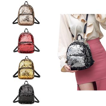 Let it Twinkle Sequin Backpack Pretty and Practical