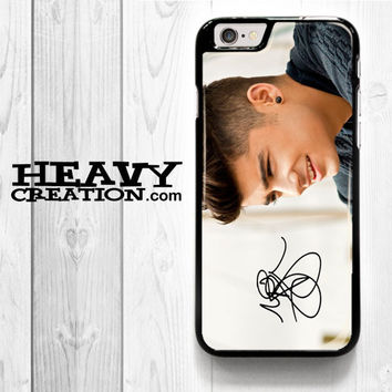 1D Zayn Malik Signature for iPhone 4 4S 5 5S 5C 6 6 Plus , iPod Touch 4 5  , Samsung Galaxy S3 S4 S5 S6 S6 Edge Note 3 Note 4 , and HTC One X M7 M8 Case
