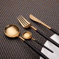 7 Colors Unique Stainless Steel Flatware Set