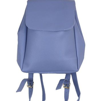 Kate Faux Leather Backpack