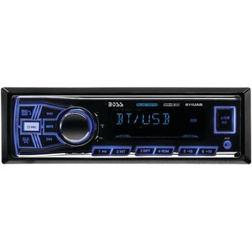 Boss Audio Single-Din In-Dash Mechless Am And Fm Receiver (With Bluetooth)
