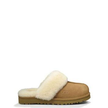 DCCK8X2 UGG? Cozy Slipper for Kids |Indoor Outdoor Slippers for Kids at