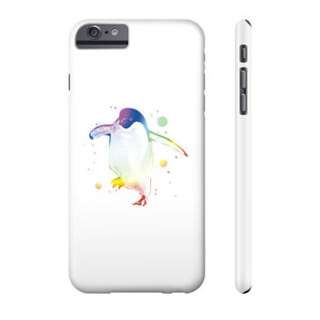 Psychedelic Penguin Phone Case