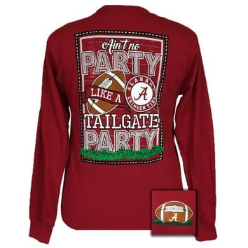 Alabama Crimson Tide Tuscaloosa Tailgate Party Long Sleeve T-Shirt