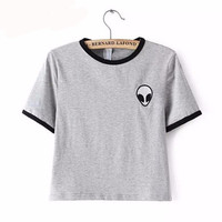 Embroidery Design Aliens T Shirts