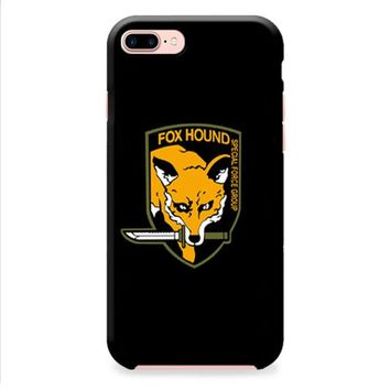 Fox Hound Metal Gear Solid iPhone 8 | iPhone 8 Plus Case