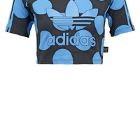 adidas Originals PHARRELL DEARBAES - T-Shirt print - blue/black - Zalando.de