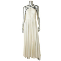 Laundry Womens Georgette Shimmer Evening Dress