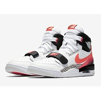Men's Jordan Legacy 312 Tech Challenge 2 Hot Lava