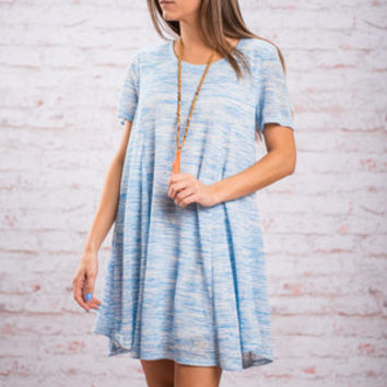 Easy To Say Dress, Blue