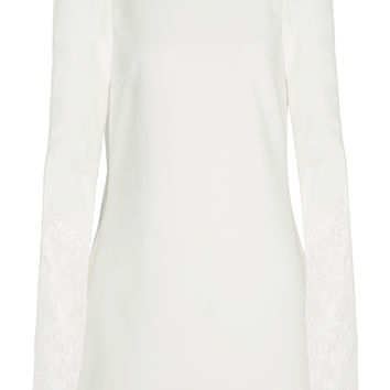 Rime Arodaky - Miss Jagger lace-paneled crepe mini dress