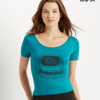 Aeropostale  Spaced Out Bodycon Tee